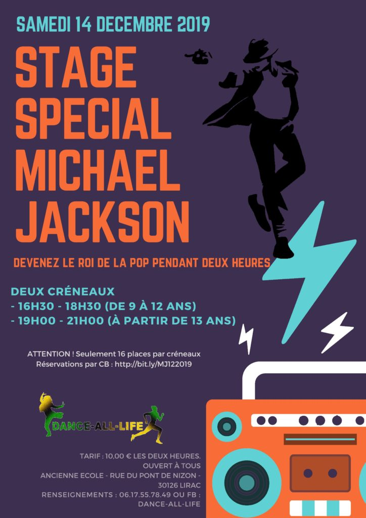 DANCE-ALL-LIFE Michael Jackson 14/12/2019